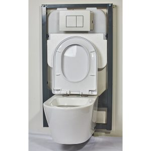 Wall Hung Toilet Concealed Cistern Package 3